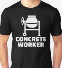 Concrete worker Unisex T-Shirt