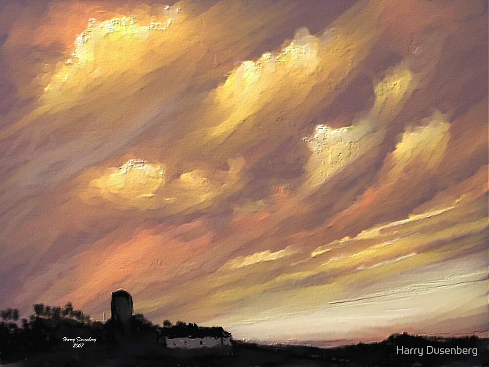 Big Sunset by Harry Dusenberg