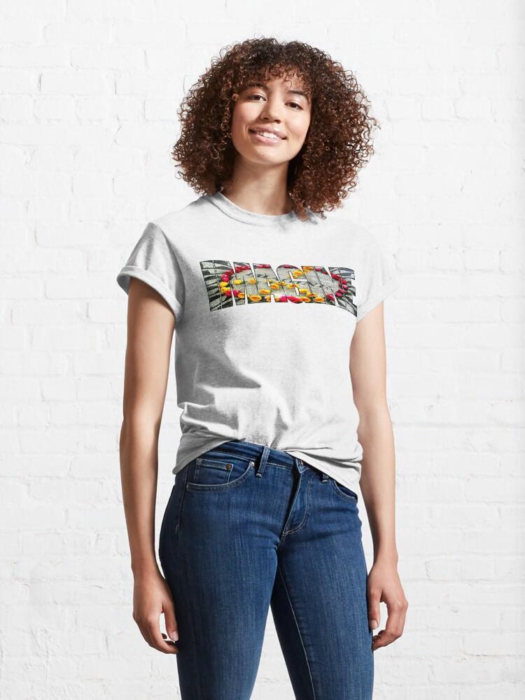 Alternate view of IMAGINE Mosaic Classic T-Shirt