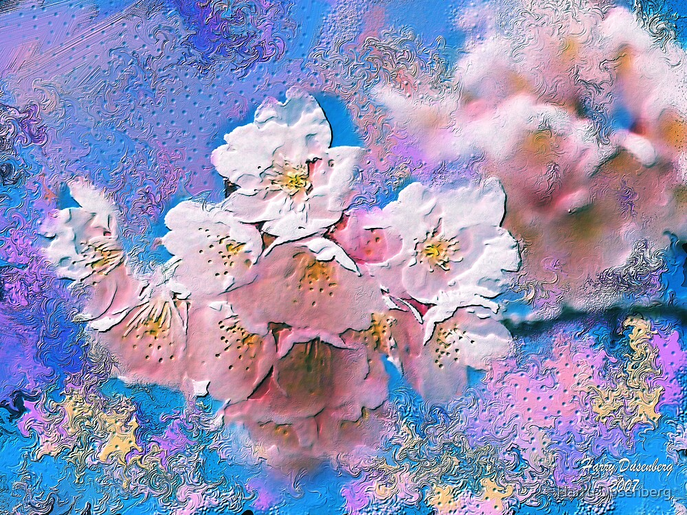 Cherry Blosoms by Harry Dusenberg