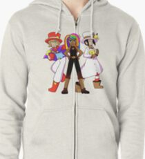 Assistant and the crew Zipped Hoodie
