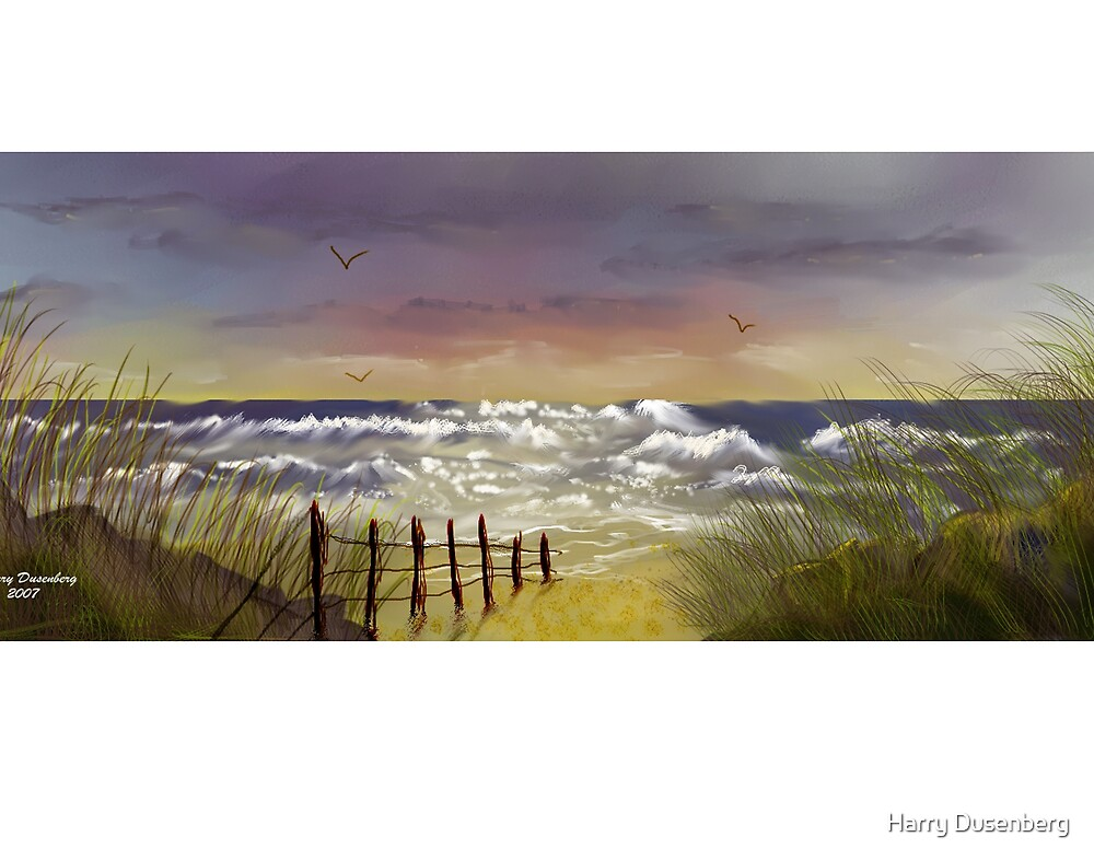 Seascape 1 by Harry Dusenberg