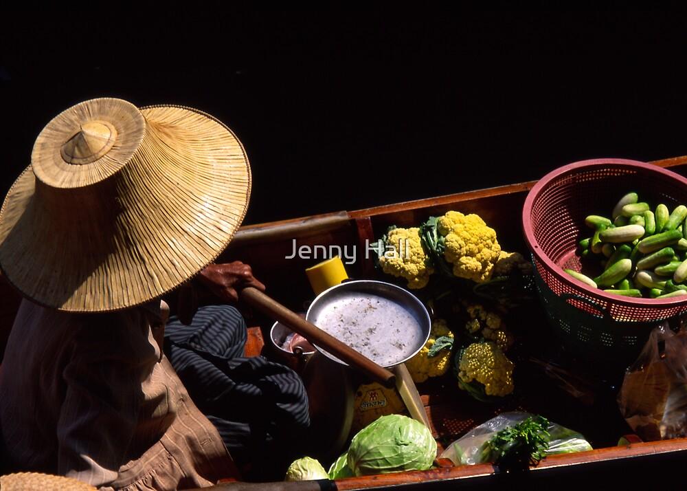 Veggie vendor by Jenny Hall