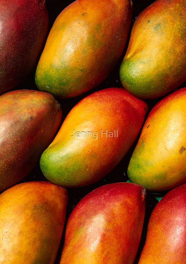 Mangoes by Jenny Hall