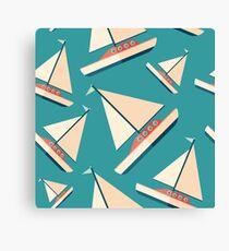 Sailing Yacht Canvas Print