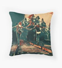 Life is Strange - Max & chloe Throw Pillow