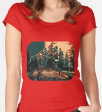 Life is Strange - Max & chloe Women's Fitted Scoop T-Shirt