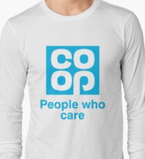Co-op people who care T-Shirt Long Sleeve T-Shirt