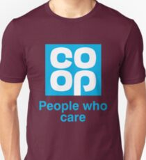 Co-op people who care T-Shirt Unisex T-Shirt