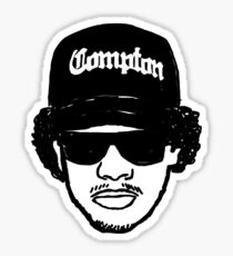 Eazy E Straight Outta Compton Sticker