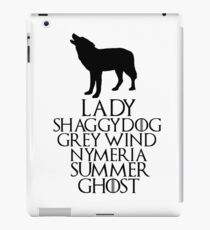 Game of Thrones: Wolves iPad Case/Skin
