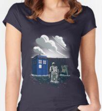 Dr. Interstellar Women's Fitted Scoop T-Shirt