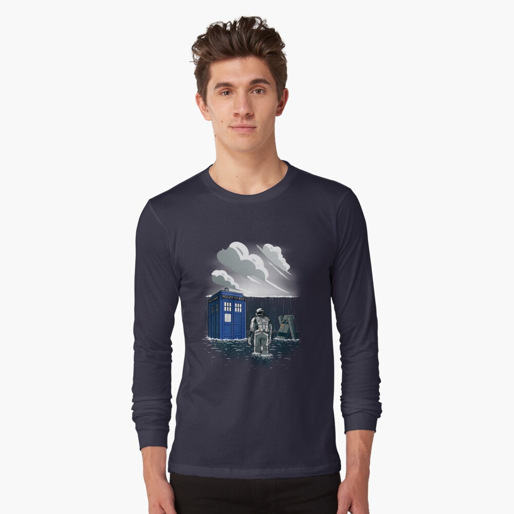 Dr. Interstellar Long Sleeve T-Shirt Front
