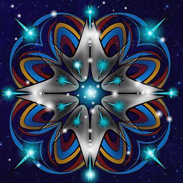Live Long and Prosper Kaleidoscope Design by samskyler