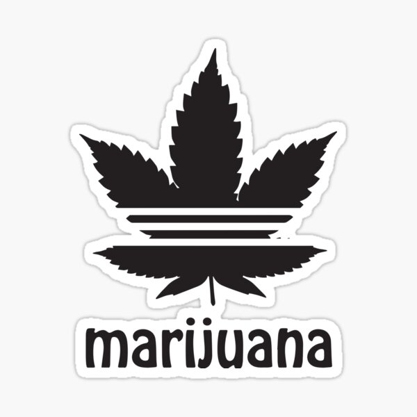 Free the Weed Cannabis Leaf Design Marijuana Sticker