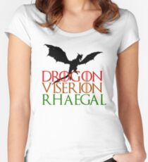 Game of Thrones: Dragons Women's Fitted Scoop T-Shirt
