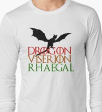 Game of Thrones: Dragons Long Sleeve T-Shirt
