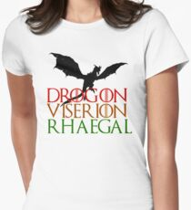 Game of Thrones: Dragons Women's Fitted T-Shirt