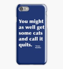 Jenna Marbles Quote iPhone Case/Skin