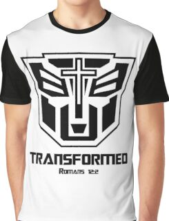 Transformed - Romans 12:2 Graphic T-Shirt