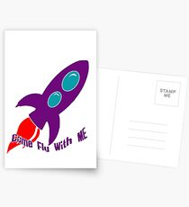 Come Fly With Me Postcards