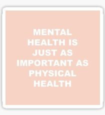 Mental Health  Sticker