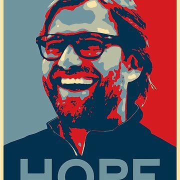 Klopp le da a Hope Liverpool Design de Cudge82