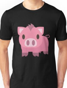 Cute Pig Unisex T-Shirt