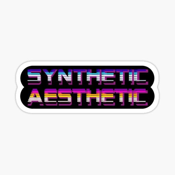 Synthetic Asethetic Sticker