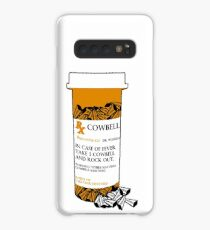 Prescription for Cowbell (outlined) Case/Skin for Samsung Galaxy