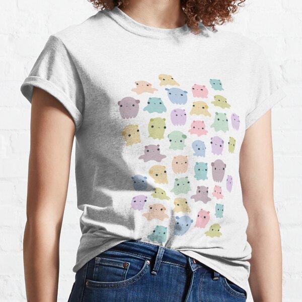 Patrón de pulpo colorido dumbo Camiseta clásica