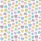 Colourful dumbo octopus pattern by mohu