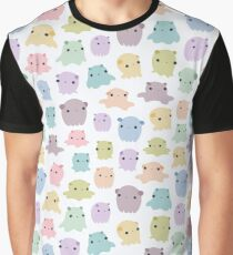 Colourful dumbo octopus pattern Graphic T-Shirt