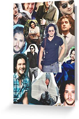 Berühmtheit: Kit Harington (Collage) von FoxGroves
