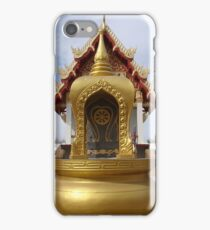 Golden Dragons at the Temple iPhone Case/Skin