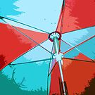 Red Umbrella by traceywaters