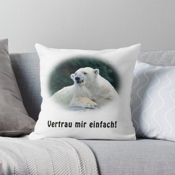 Tricki der Eisbär Dekokissen