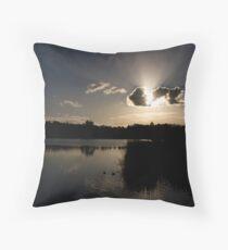 LILYDALE LAKE Throw Pillow