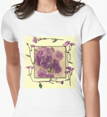 Campanella Framed With Pressed Petals T-Shirt