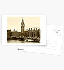 Timeless London Postcards