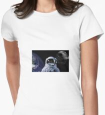 space man watching a battle T-Shirt