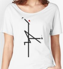 Painted Crane Women's Relaxed Fit T-Shirt