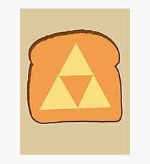 Triforce toast Photographic Print