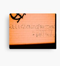 What is religion? Canvas Print