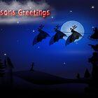 Seasons Greetings - Christmas by GothCardz