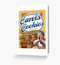 Famous Carol's Cookies Greeting Card