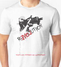 Revolution Stars and Stripes Design Unisex T-Shirt