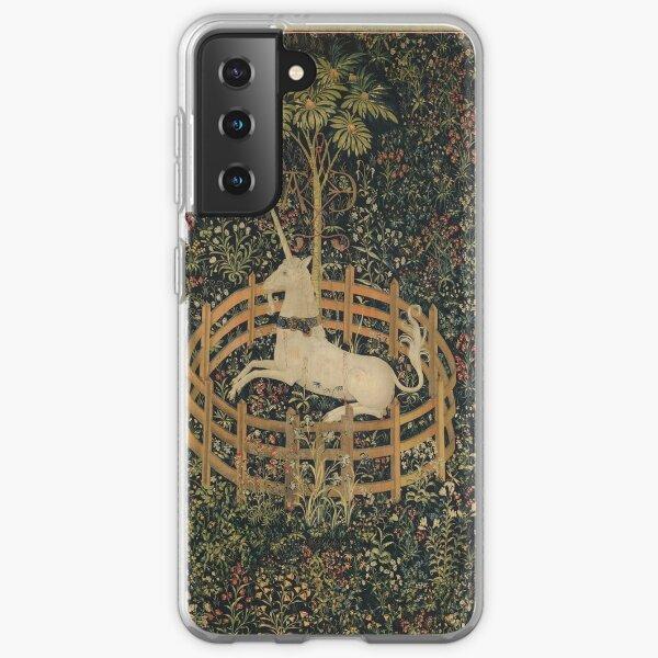 Unicorn in Captivity Unicorn Tapestry Fantasy Samsung Galaxy Soft Case