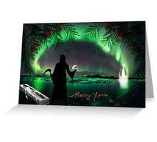 Merry Xmas Greeting Card