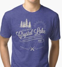 Camp Crystal Lake Tri-blend T-Shirt